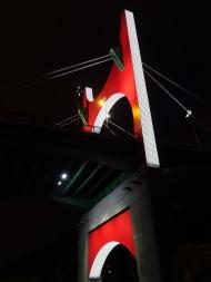 Arcos Rojos, Daniel Buren